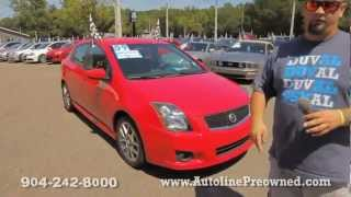 Autoline's 2009 Nissan Sentra SE-R Spec V Walk Around Review Test Drive