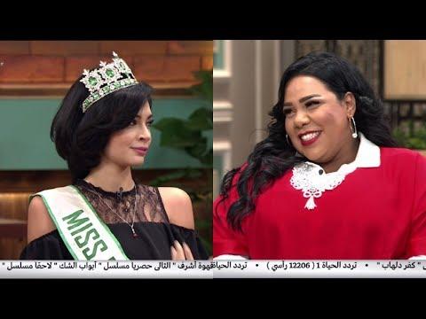 شيماء سيف توجه سؤالا غير متوقع لملكة جمال مصر للسياحة