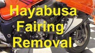 7. How To Remove Hayabusa Fairings