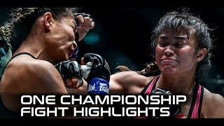 ONE Dreams of Gold Recap: Stamp Fairtex arrives in MMA by MMA Weekly