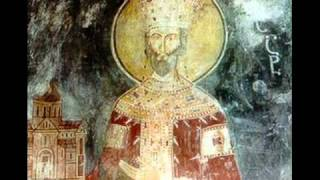 Picture - Bagrat III of Georgia, mural from Gelati Monastery.