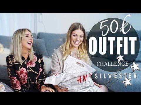 SILVESTER OUTFIT für nur 50€ ! | Challenge mit Kim Wood | Lookbook