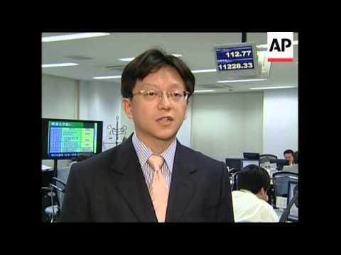 Nikkei down 5pc, Yen down 2pc vs Dollar
