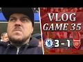 Chelsea 3 v 1 Arsenal | It's Time To Say Goodbye Wenger | Matchday Vlog | Game 35