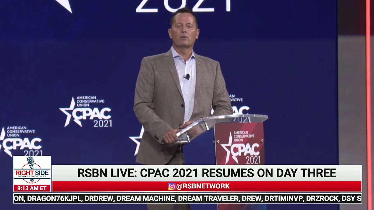 Ric Grenell's full CPAC 2021 speech