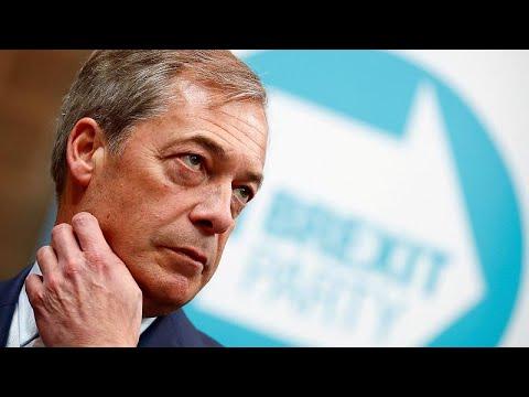 EU-Umfragen: Große Parteien verlieren, Brexit-Parte ...