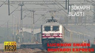 Nonton 130kmph Blast  Nawab Of North Lucknow Shatabdi Storms Past Sikandarpur  Film Subtitle Indonesia Streaming Movie Download