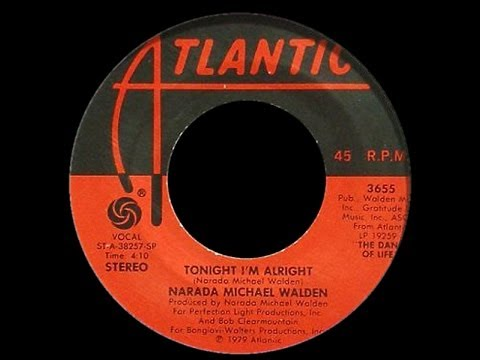 Narada Michael Walden ~ Tonight I'm Alright 1979 Disco Purrfection Version