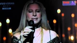 Oscar 2013 Barbra Streisand sings The Way We Were in memoriam