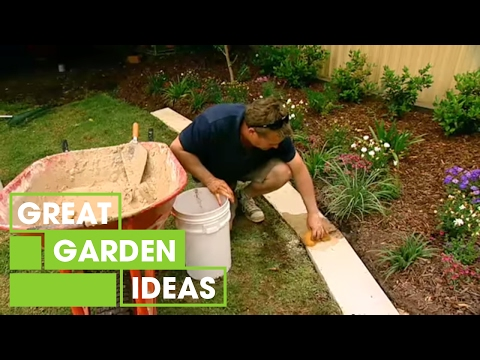 , title : 'How To Make Great Garden Edging | Gardening | Great Home Ideas'