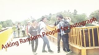 Asking Random People For Autograph - Nepali Public Prank