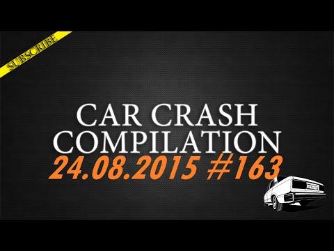 Car crash compilation #163 | Подборка аварий 24.08.2015