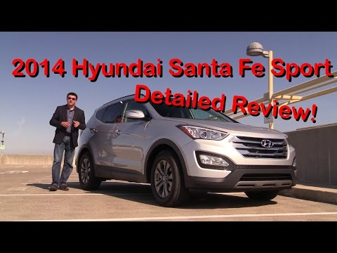 2014 Hyundai Santa Fe Sport Detailed Review and Road Test Part 1 of 2
