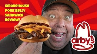 Video Arby's® Smokehouse Pork Belly Sandwich Review!  Is this the Greatest Sandwich in the World? MP3, 3GP, MP4, WEBM, AVI, FLV Juni 2018