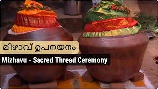 Sacred Thread Ceremony for Mizhavu