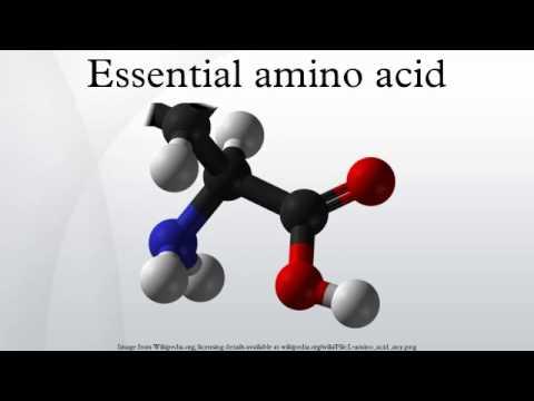 Essential amino acid