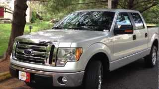 2012 Ford F-150 3.7L Review, Walk Around, Start Up&Rev, Test Drive