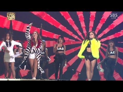 CL+LEE HYORI_1229_SBS Gayo Daejun_나쁜 기집애(THE BADDEST FEMALE)