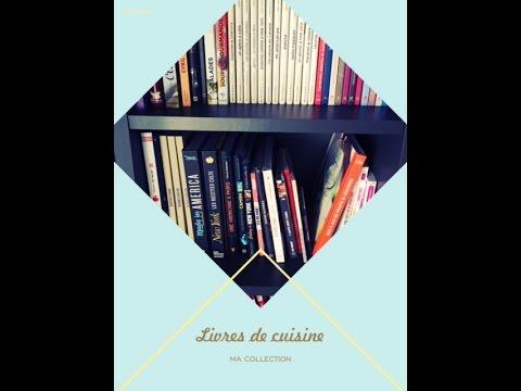 Ma collection de livres de cuisine !!!