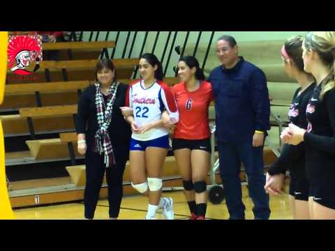 2013 Volleyball Senior Day
