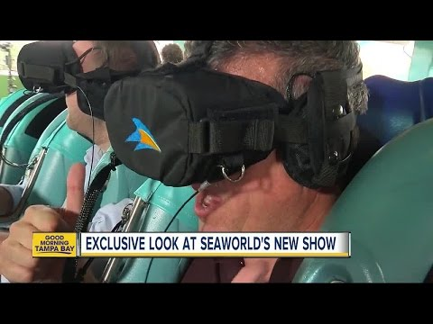 Exclusive look at SeaWorld's new show and new virtual reality experience