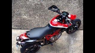9. Ducati Hypermotard 1100 Termignoni ride by sound