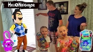 Hello Neighbor in Real Life!!! LOCK STARS Scavenger Hunt! WE CAUGHT HIM THIS TIME!!!