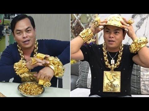 Đại gia Phúc XO người đeo vàng nhiều nhất Việt Nam bị bắt - Thời lượng: 111 giây.