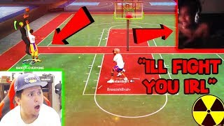 IM SCARED FOR MY LIFE !! I WAS THREATENED BECAUSE I DID THE MOST TOXIC THING ON NBA 2K19 !! IM SORRY
