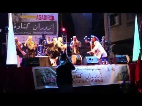 مجموعة كناوة ولادي فولان المعلم المهدي ـ مهرجان إزوران كناوة