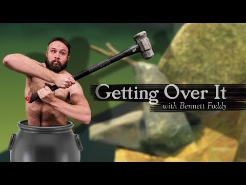 GRIP IT GOOD - Getting Over It with Bennett Foddy Gameplay (видео)