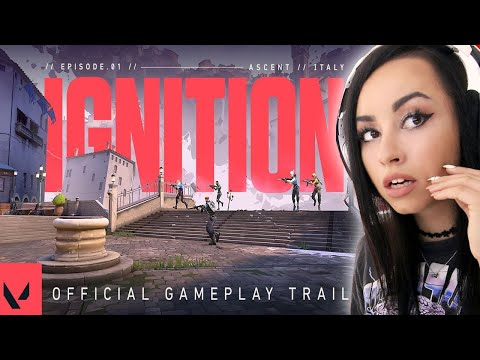 Bunny REACTS to Episode 1: IGNITION // Official Launch Gameplay Trailer - VALORANT !!!