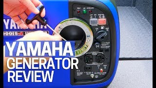 1. Yamaha Inverter Generator EF2000is V2 Review 2000 Watt - Portable Generator