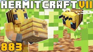 Hermitcraft VII 883 Easy Bee Nest Farm!