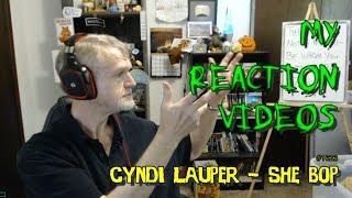 Cyndi Lauper - She Bop : My Reaction Videos #1,623