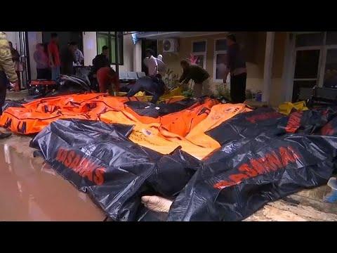Indonesien: Über 280 Tote nach Tsunami  - fast 12.000 Menschen verloren ihr Zuhause