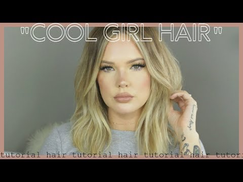 New hairstyle - COOL GIRL HAIR TUTORIAL  USING NEW HAIR PRODUCTS // Mallory1712
