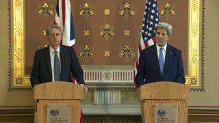 Hammond (IN) United States  city images : Remarks by Secretary Kerry and British Foreign Secretary Hammond