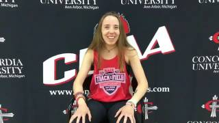 Jr. Stephanie Johnston - CUAA Track thumbnail