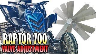 6. Raptor 700 Check and Adjust Valves