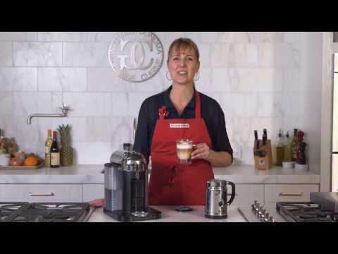 Brewing Coffee and Espresso with Nespresso VertuoLine   Williams-Sonoma