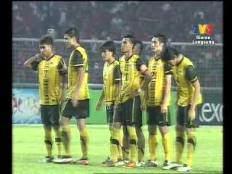 Bolasepak Sukan SEA Akhir 2011 di Jakarta Malaysia 1 vs Indonesia 1 (Malaysia Menang Penalti 4-3 )