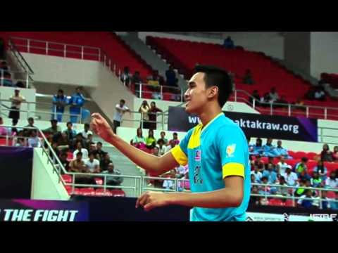 Sepaktakraw [ISS Myanmar] - Malaysia vs Myanmar