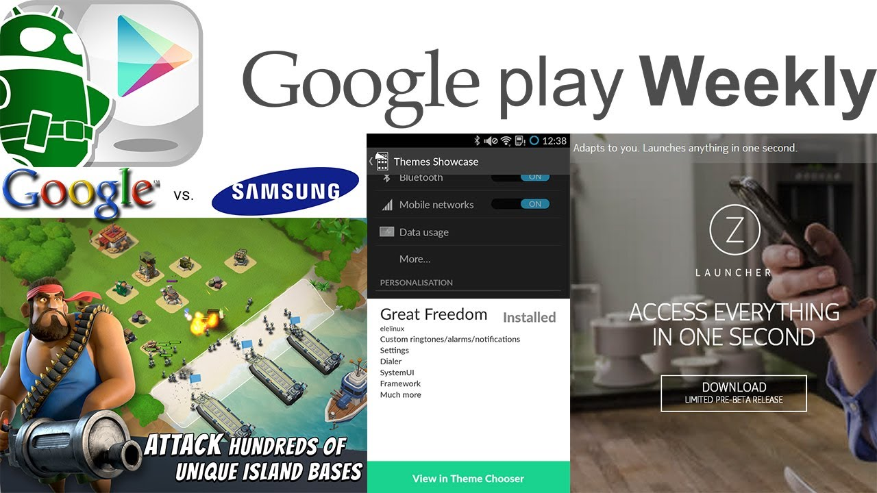 New Samsung and Nokia Launchers, Facebook releases Slingshot, AOSP Email – Google Play Weekly