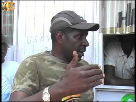 Several cartons of alleged killer brew nabbed in a public toilet in Nakuru