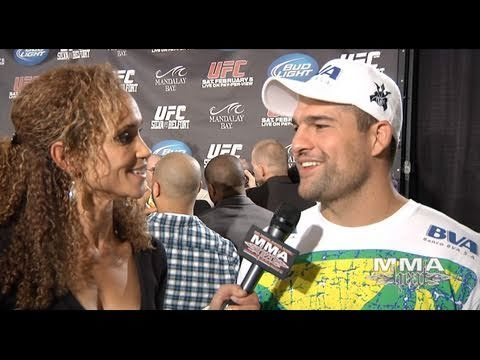 UFC 126 Aftermath LHW Champ Mauricio Shogun Rua talks Fighting Jon Jones