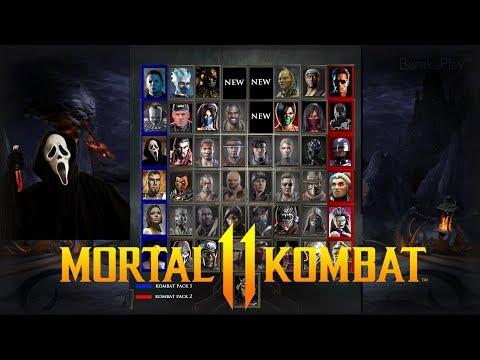 MORTAL KOMBAT 11 - ULTIMATE CHARACTER ROSTER PREDICTION (49 Characters Inc. Kombat Pack DLC's)