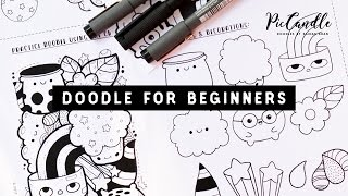 Doodle for Beginners | Draw with Me Step-by-Step