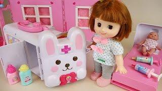 Video Baby doll Rabbit ambulance Hospital toys play with Pororo MP3, 3GP, MP4, WEBM, AVI, FLV Desember 2017