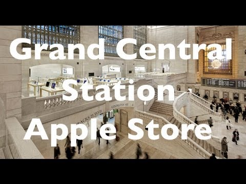 Apple store grand central stat - Come along on a guided tour of the relatively new Apple Store in Grand Central Station insNew York City, New York. Steve Jobs explains the Apple Store.